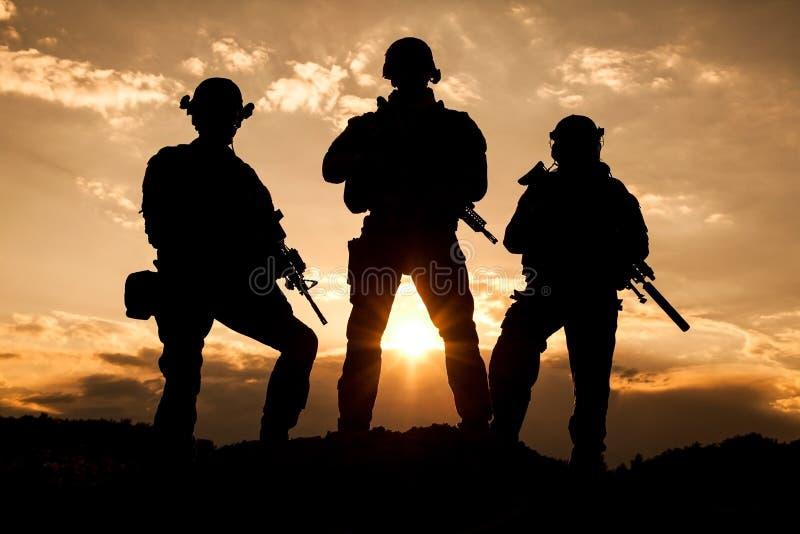 Stany Zjednoczone wojska leśniczowie zdjęcia stock