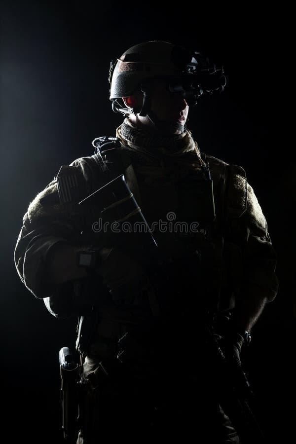 Stany Zjednoczone wojska leśniczy zdjęcie stock