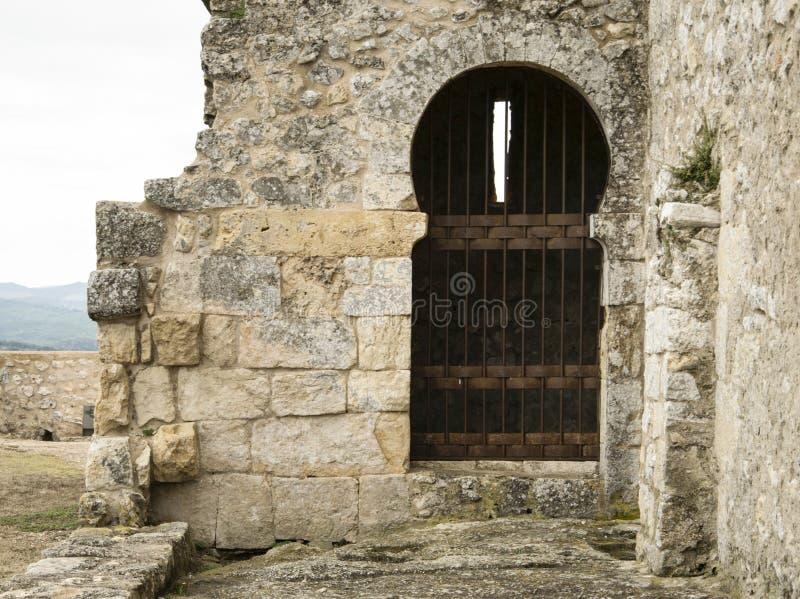 Stanza aggiunta ad un monastero fotografie stock