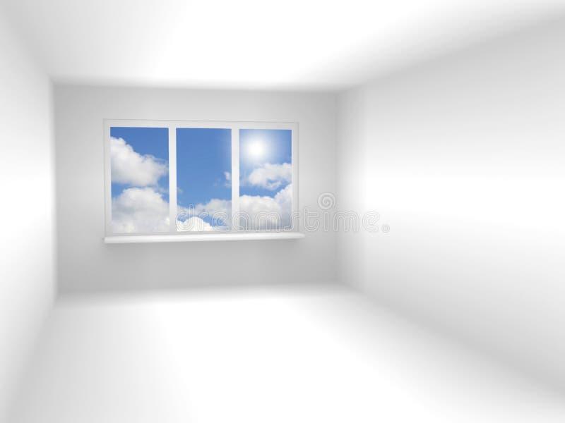 Download Stanza Astratta Di Colore Bianco Illustrazione di Stock - Illustrazione di alloggiamento, disegno: 7301120