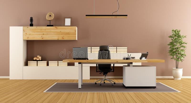 Stanza contemporanea dell 39 ufficio illustrazione di stock for Stanza in ufficio