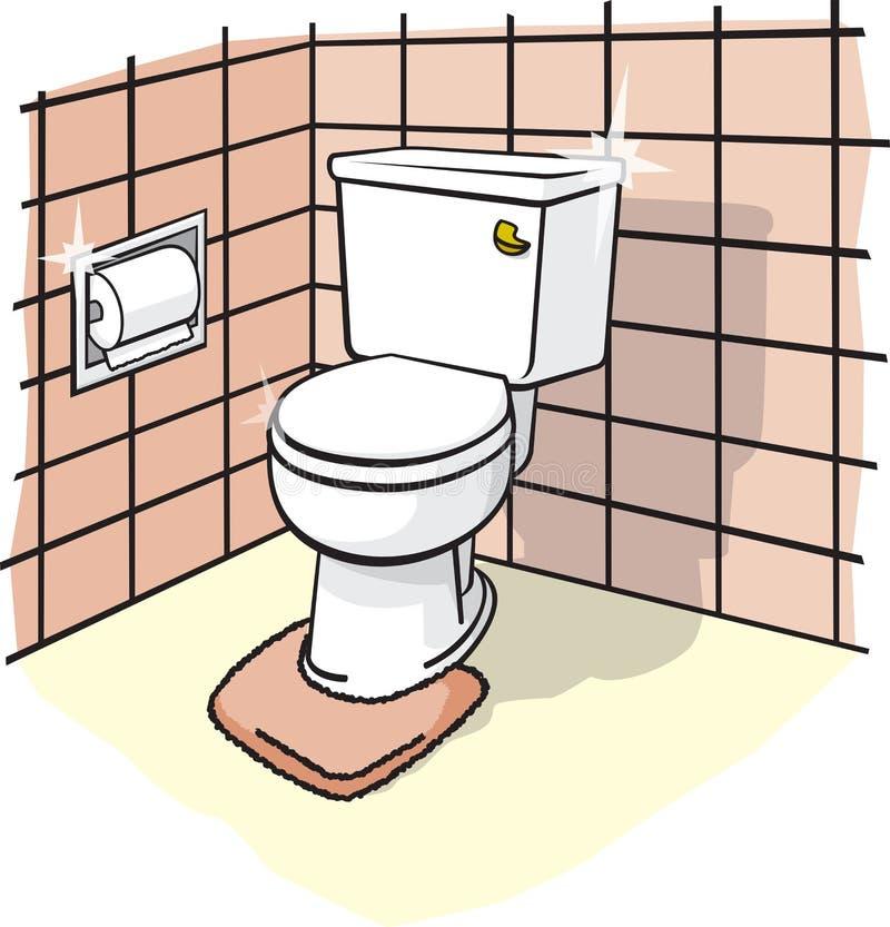 Stanza da bagno royalty illustrazione gratis