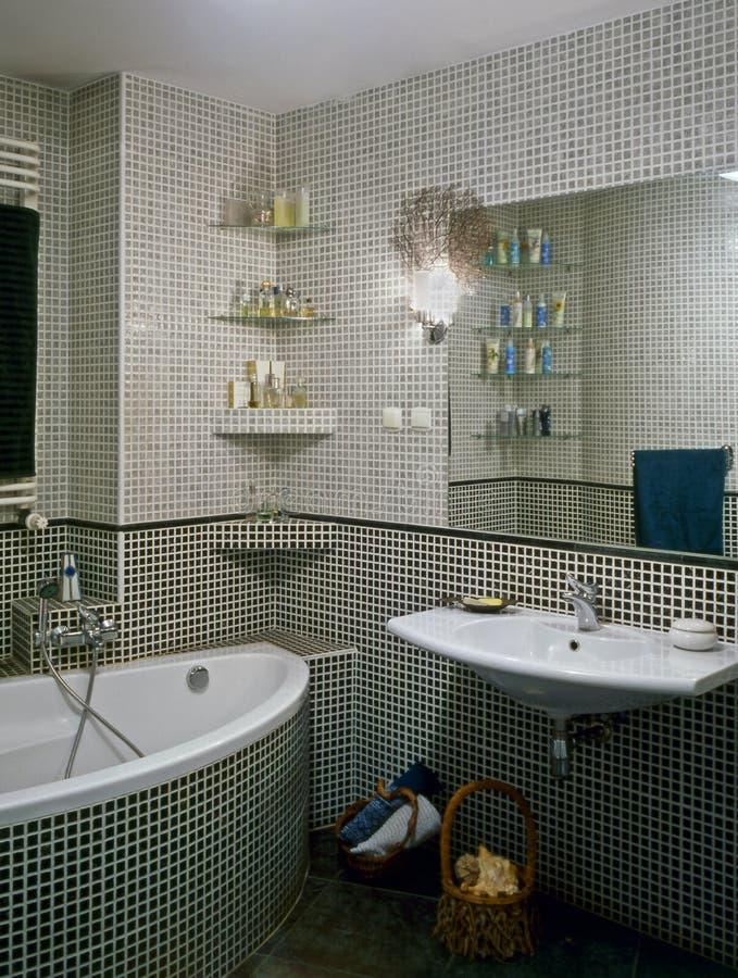 Download Stanza da bagno fotografia stock. Immagine di stanza, acquazzone - 7321810