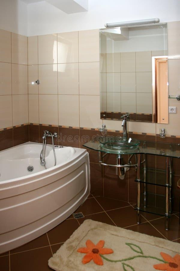 Stanza da bagno fotografia stock immagine di verde - Oggetti da bagno ...