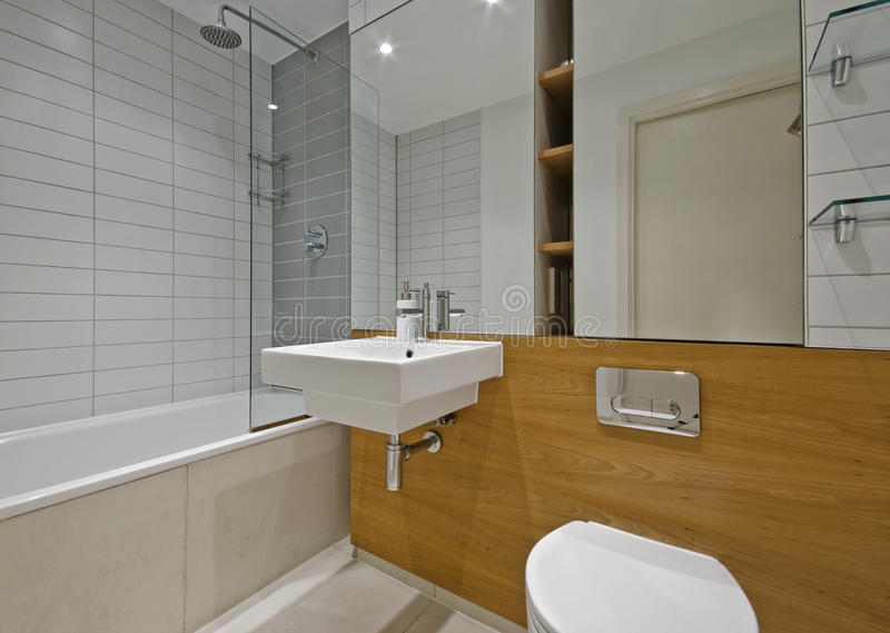 Stanza da bagno contemporanea fotografia stock immagine - Stanza da bagno ...