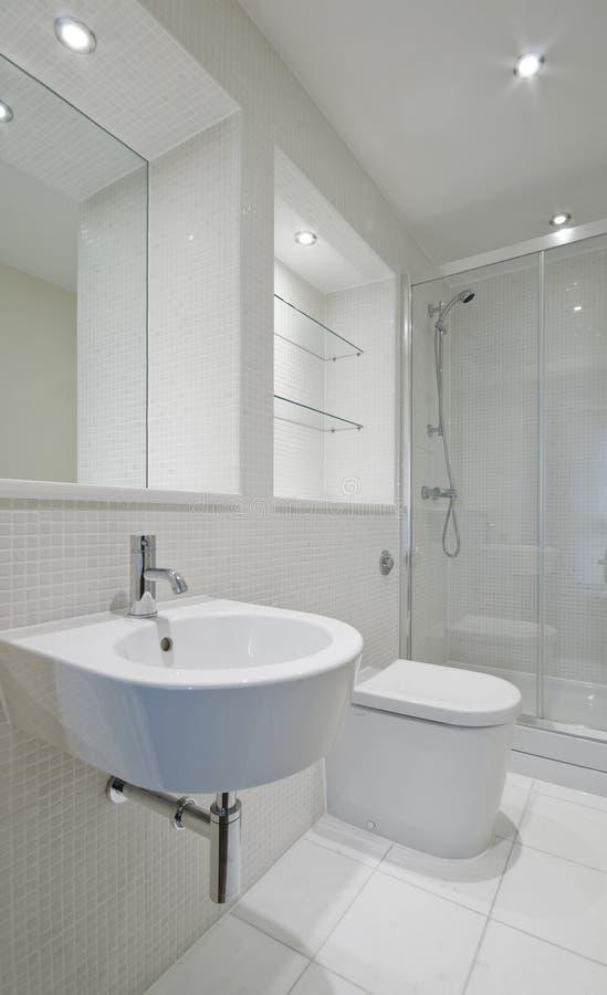 stanza da bagno della En-serie fotografia stock