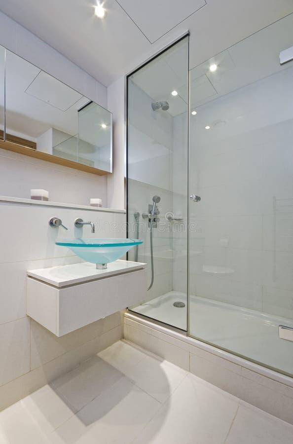 stanza da bagno della En-serie fotografie stock