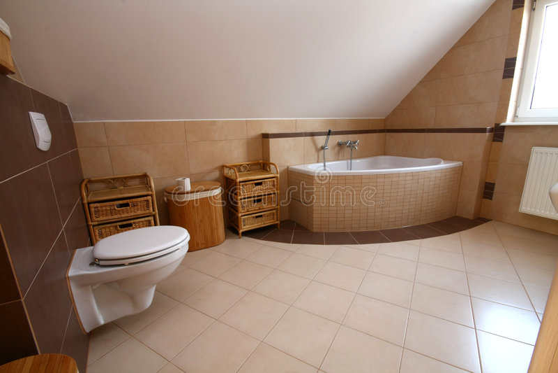 Stanza da bagno semplice immagine stock immagine di - Stanza da bagno ...
