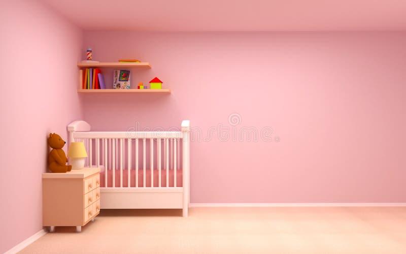 Stanza del bambino illustrazione di stock