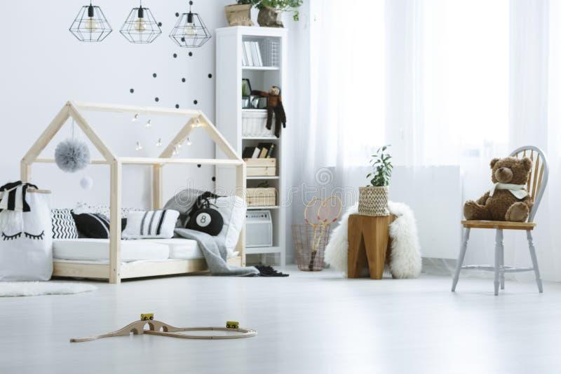 stanza del neonato fotografia stock