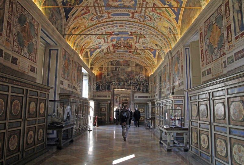 Stanza del Vaticano immagini stock libere da diritti