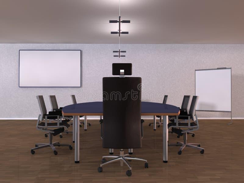 Stanza dell 39 ufficio dell 39 illustrazione illustrazione di for Stanza in ufficio