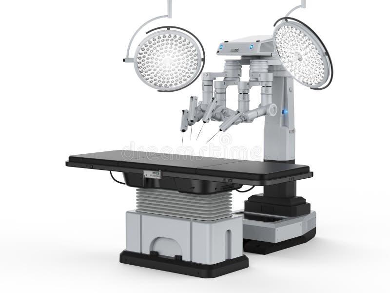 Stanza della chirurgia con ambulatorio robot immagini stock libere da diritti