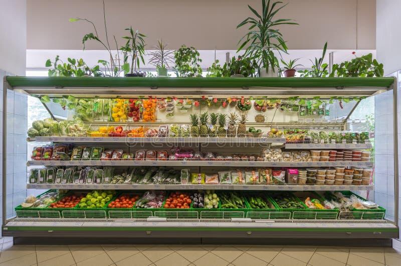 Stanza di commercio del supermercato immagini stock libere da diritti