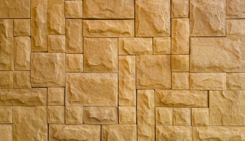 Stanza di esterno del fondo del muro di mattoni illustrazione vettoriale