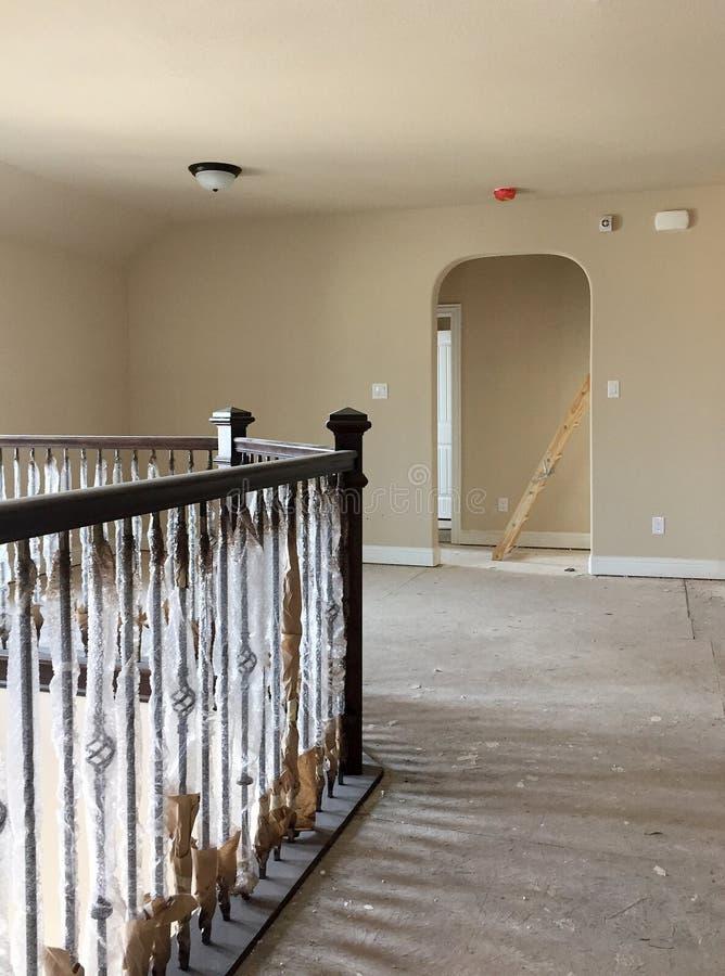 Stanza di famiglia del secondo piano in costruzione for Texas piani casa personalizzati