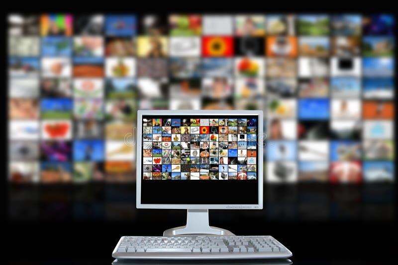 Stanza di media immagini stock libere da diritti
