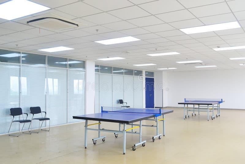 Stanza di ping-pong fotografia stock libera da diritti
