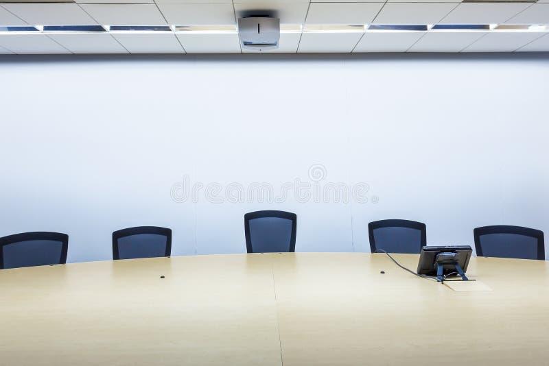 Stanza di riunione d'affari fotografie stock