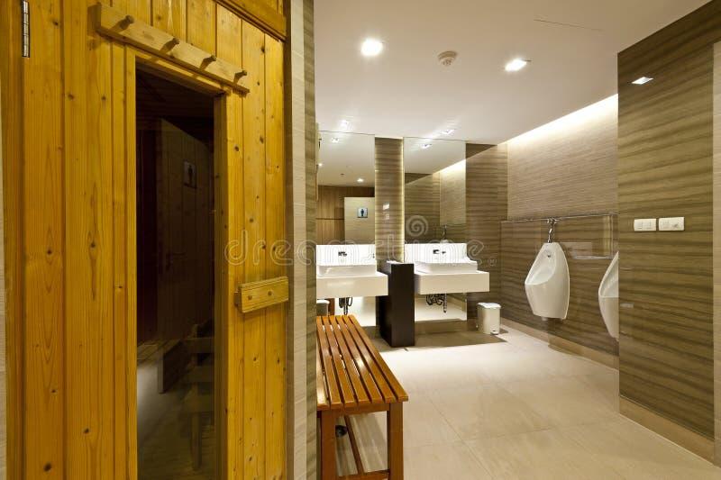 Stanza di sauna fotografie stock