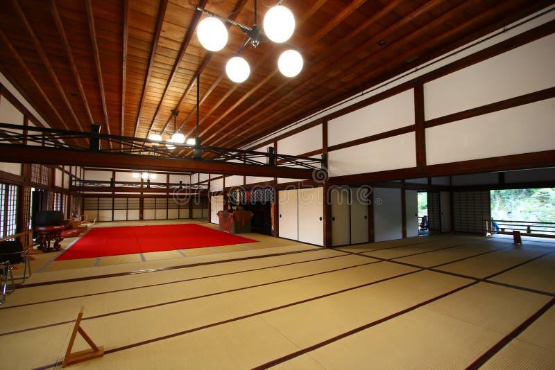 Stanza di Tatami fotografie stock