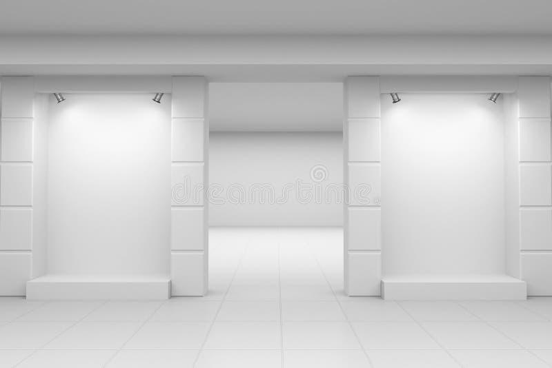 Stanza frontale di negozio illustrazione vettoriale
