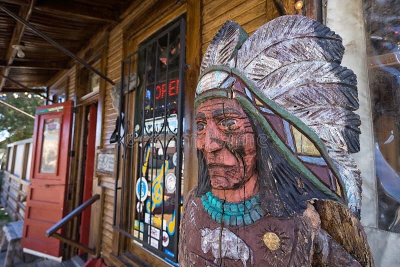 Stanza frontale di negozio in Banderas il Texas fotografia stock libera da diritti