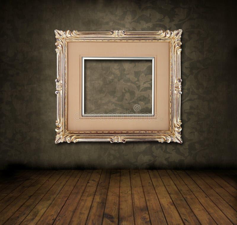 Stanza Grungy immagini stock libere da diritti