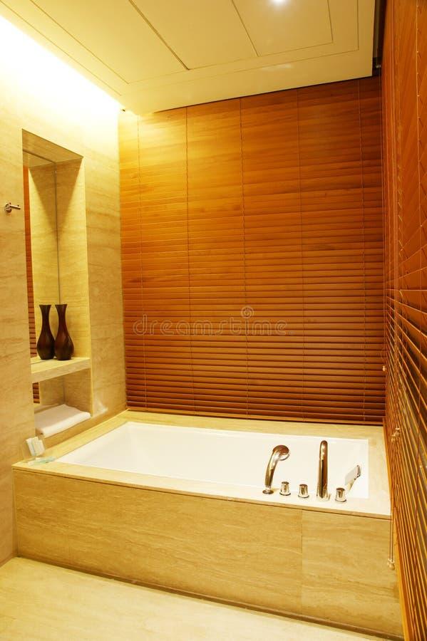 stanza moderna del bagno immagini stock libere da diritti