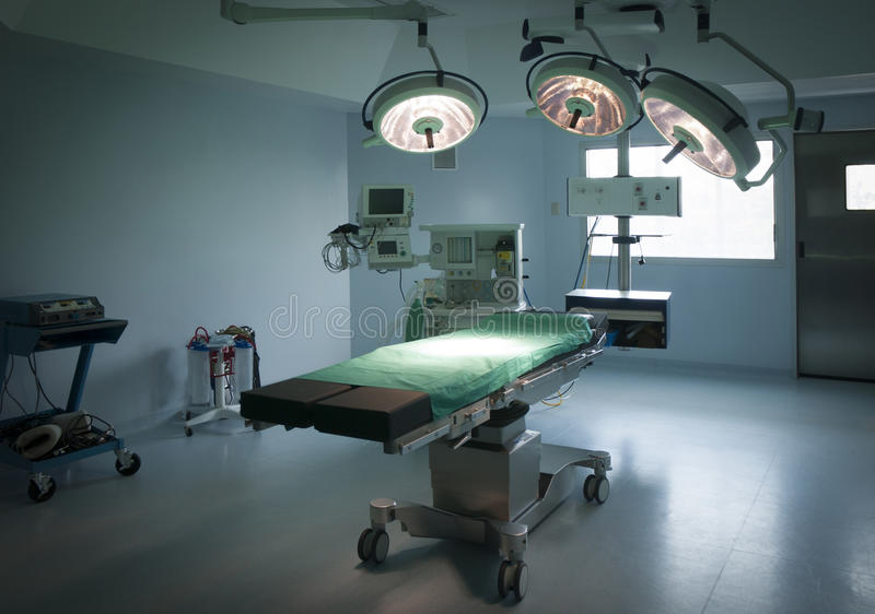Stanza in ospedale fotografie stock libere da diritti