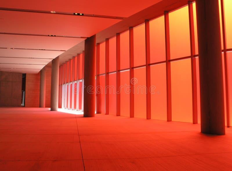 Download Stanza rossa fotografia stock. Immagine di costruzione - 214738