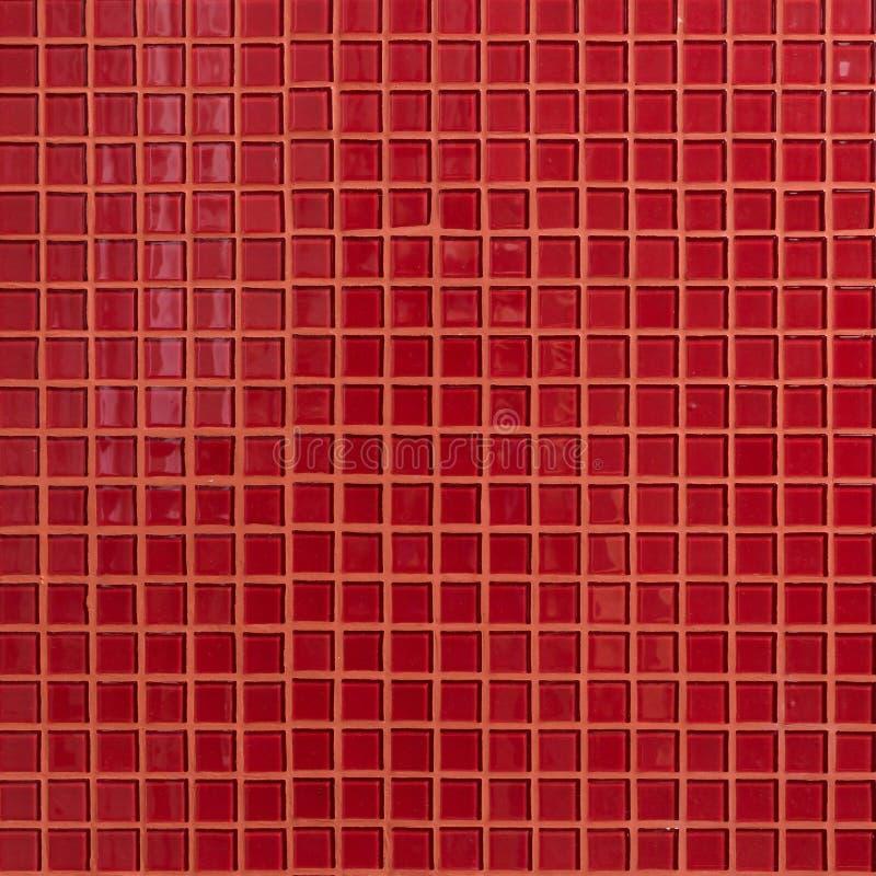 Stanza rossa della parete della decorazione della tessera fotografie stock