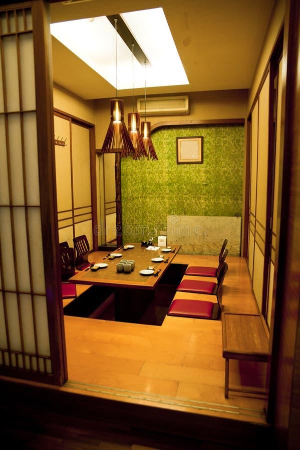 stanza tradizionale di stile giapponese fotografie stock