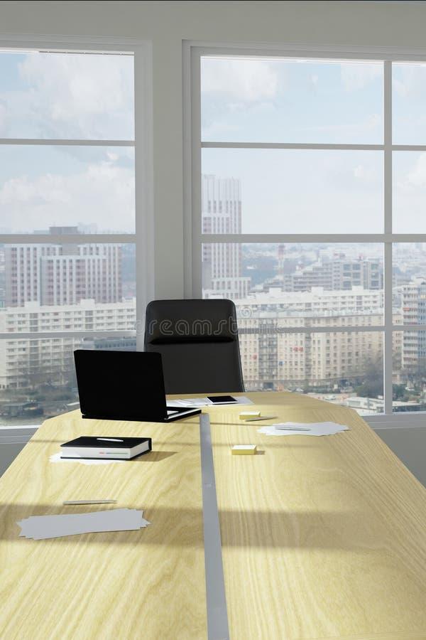 Stanza urbana moderna dell'ufficio illustrazione di stock