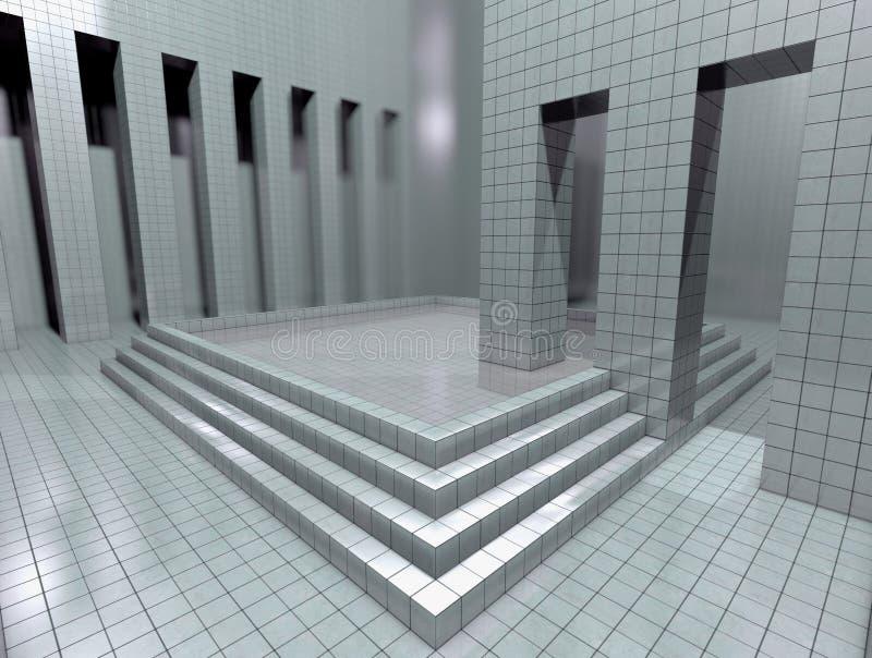 Stanza virtuale illustrazione vettoriale