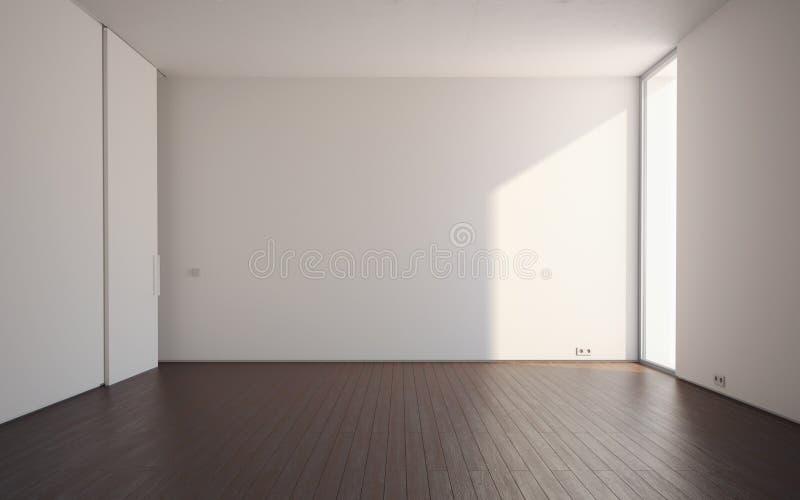 Stanza vuota illustrazione di stock illustrazione di for Mobilia spazio