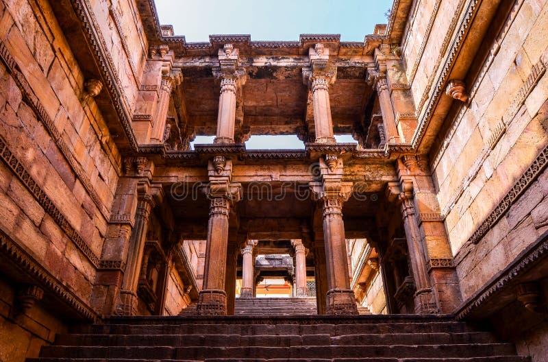 Stap goed van ambapur Gujarat royalty-vrije stock afbeeldingen