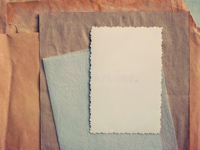 Stapel alte Papiere stockbilder