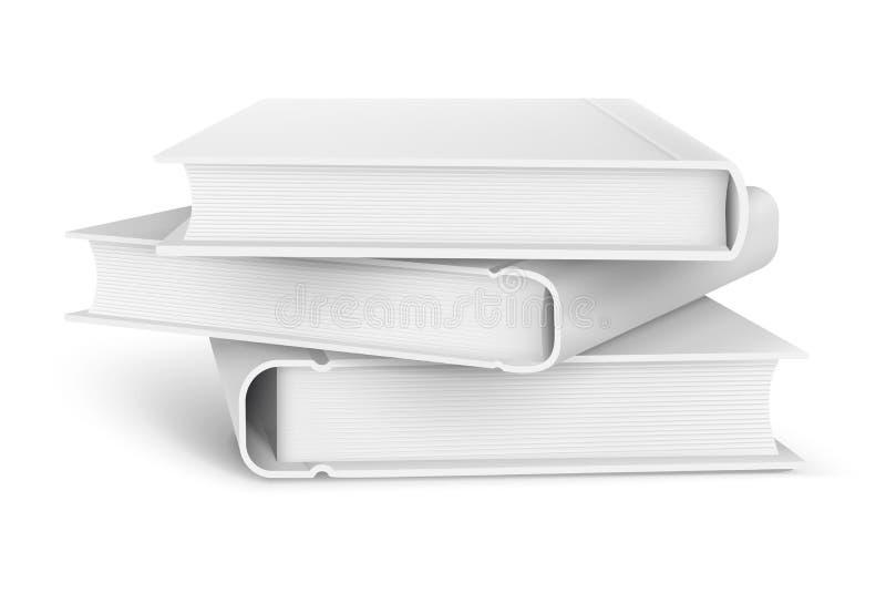 Stapel av böcker stock illustrationer