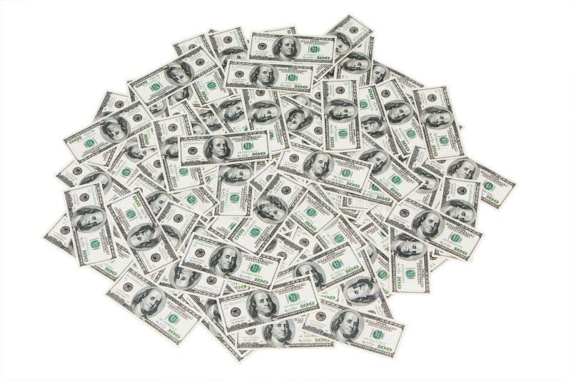 Stapel av pengar royaltyfri bild