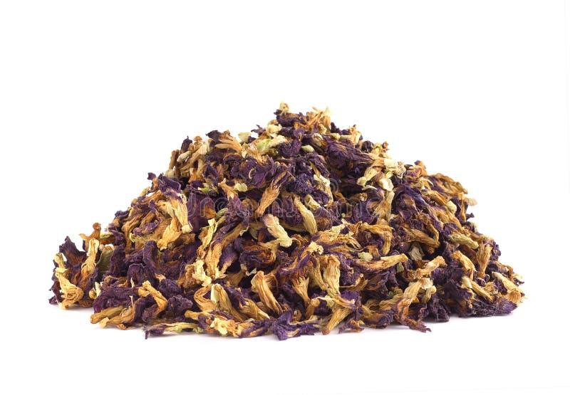 Stapel av växt- tea. fotografering för bildbyråer