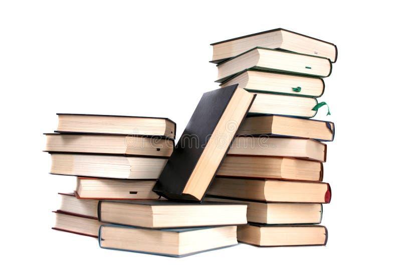Stapel Bücher stockfotos