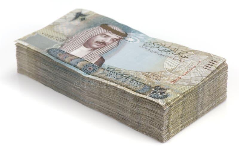 Stapel Bahrain-Geld stockbilder
