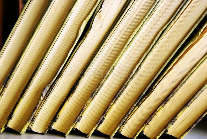 Stapel boeken royalty-vrije stock foto
