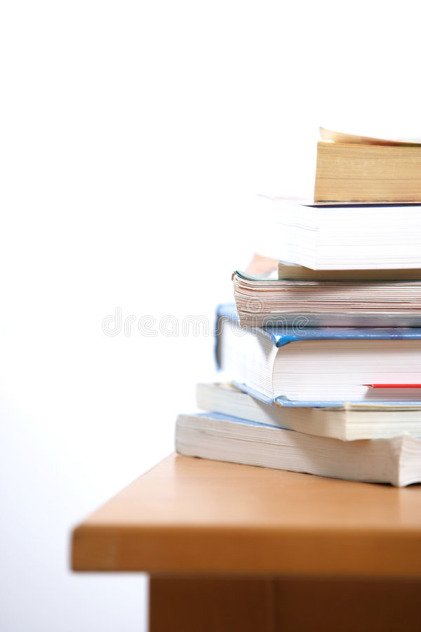 Stapel Boeken stock foto