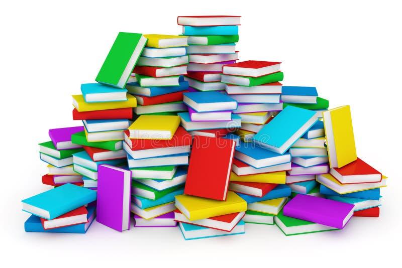 Stapel boeken royalty-vrije illustratie