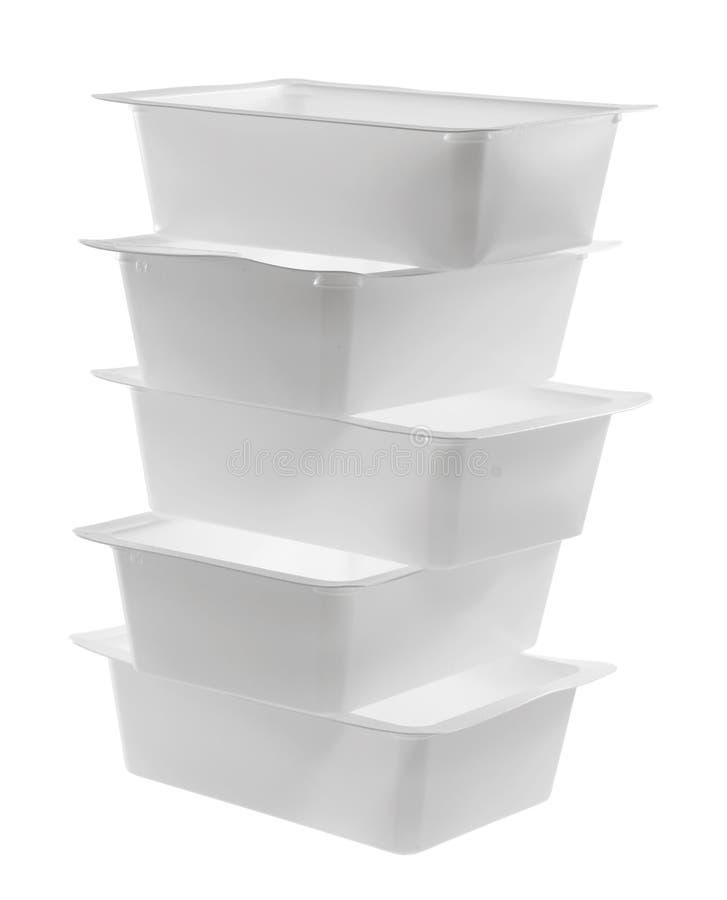 Stapel containers royalty-vrije stock afbeeldingen