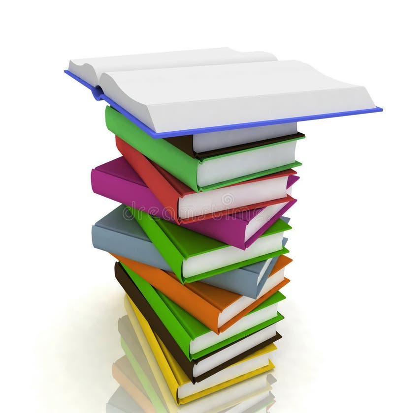 Stapel der Bücher vektor abbildung