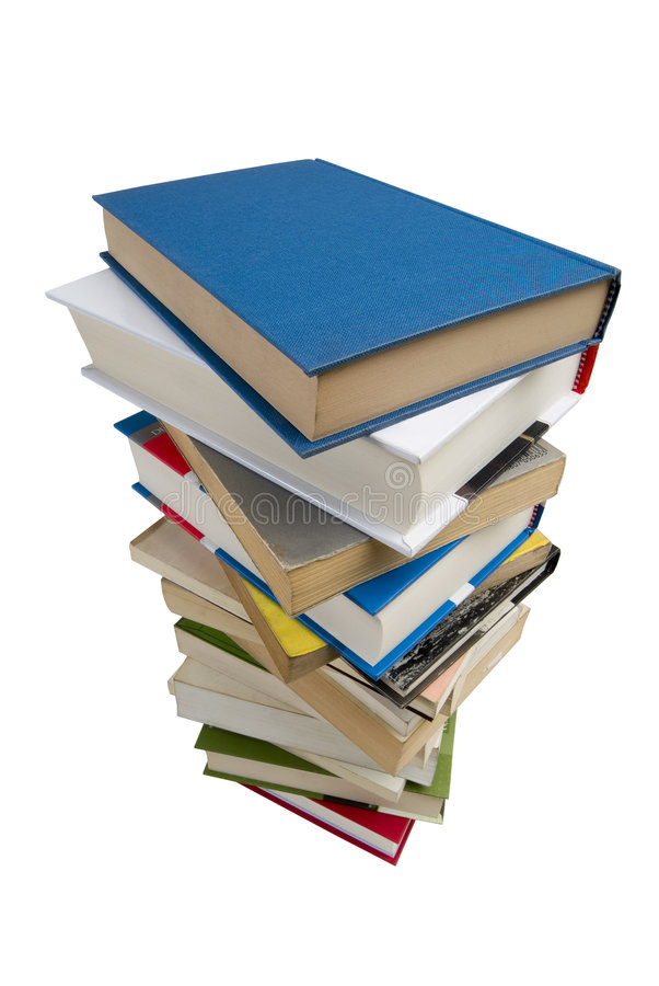 Stapel der Bücher fotos de archivo