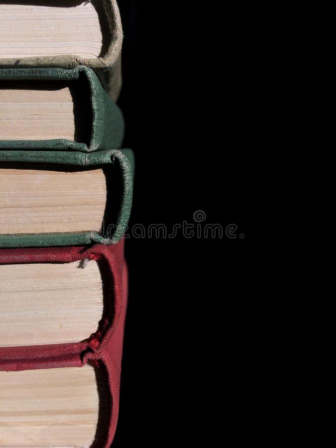 Stapel der Bücher stockfotografie
